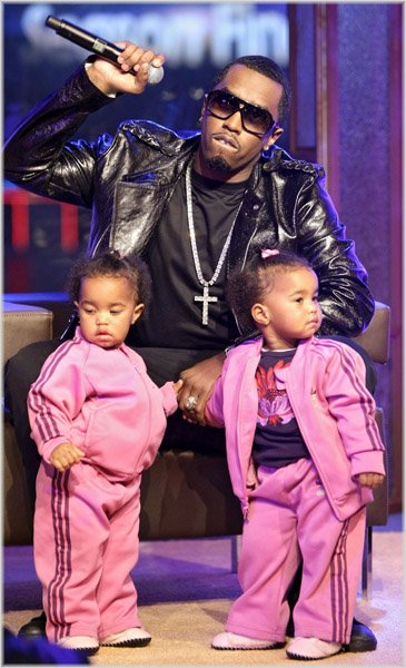 Pictures Of Sean Combs Twins