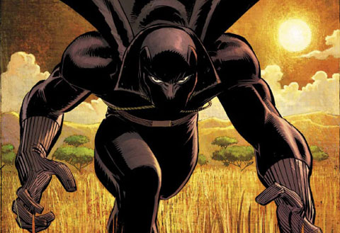 Panther Cartoon Characters Character Black Panther
