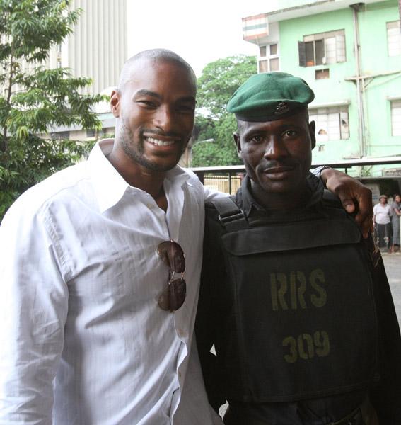 Tyson Beckford Parents Photos PICS OF THE DAY: NAOMI...
