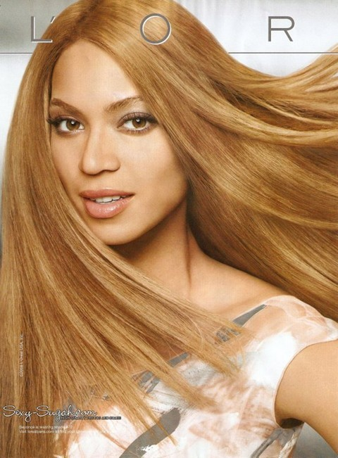 L Oreal Denies Lightening Beyonce S Skin In New Ad