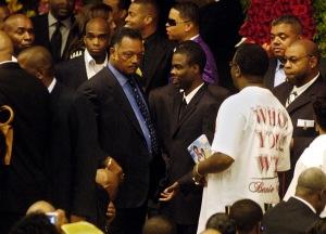 Rev. Jesse Jackson Sr. and Chris Rock