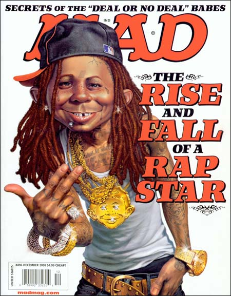MAD MAGAZINE FRONT COVER (DECE...