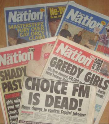 The now defunct Ethnic Media Group who published the The New Nation Newspaper which folded in 2009