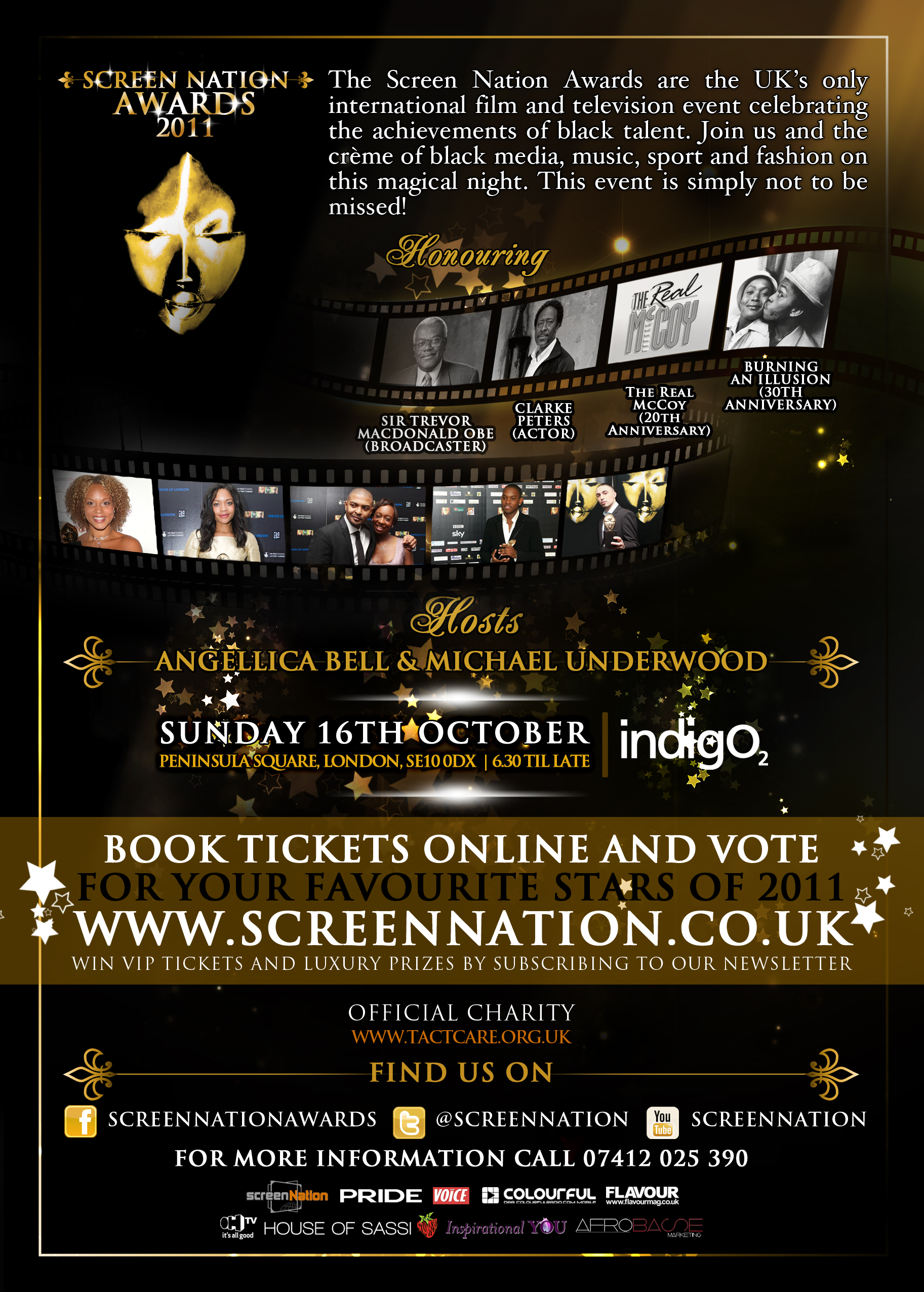 UK NEWS: SCREEN NATION FILM & TELEVISION AWARD NOMINATIONS ANNOUNCED ...