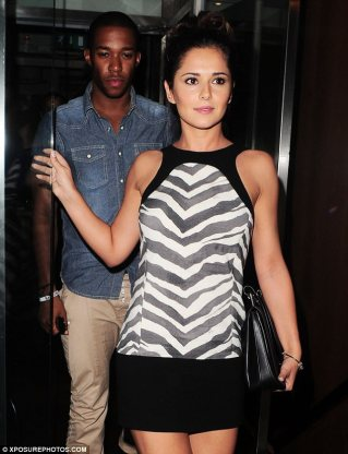 Suspect: Dancer Tre Holloway and Cheryl Cole