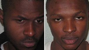 Murderers: Nathaniel Okusanya andNelson Idiabeta