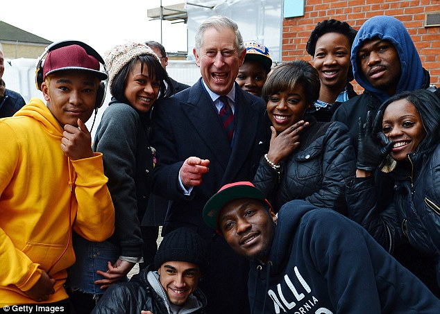 Prince Charles hangs out with the man dem and gyal dem at the Oval Cricket Club in South London