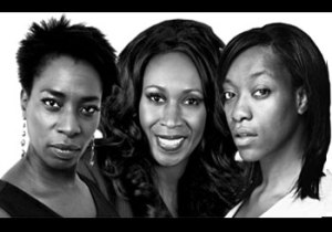 (L-R)Tanya Moodie, Angie Le Mar and Somalia Seaton are The Ryan Sisters.