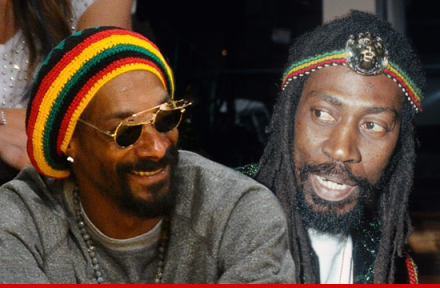 Snoop Dogg aka Snoop Lion and Bunny Wailer