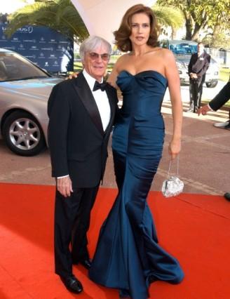 Bernie with ex-wife Slavica