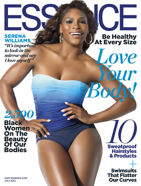 Serena Williams Ebony July 2008