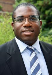 MP for Tottenham David Lammy