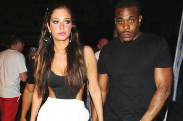 Tulisa and Mike during happier times