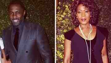 Idris and Alfre