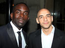 Triforce founders Jimmy Akingbola and Fraser Ayres.