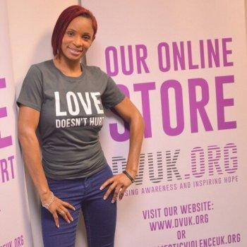 Domestic Violence UK ambassador Jenni Steele.