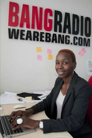 Bang Radio Founder/CEO Jennifer Ogole