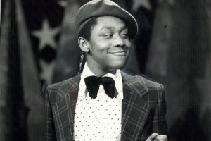 A young Lenny Henry performing on New Faces