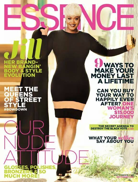Essence Magazine Front Cover September 2014 Issue Jill