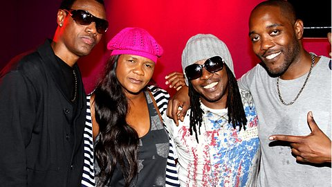 Wayne Wonder, Lady Saw and Frisco Kid with 1Xtra host Seani B