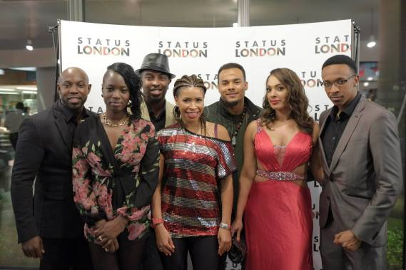 The Status London cast.