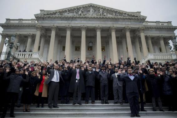 congress-staffers-protest