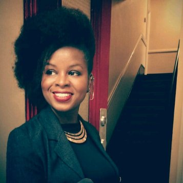 Blackhair & Beauty Magazine editor Keysha Davis