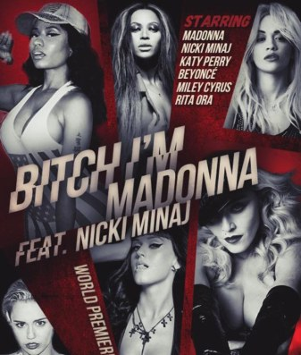 bitch-im-madonna-video-poster