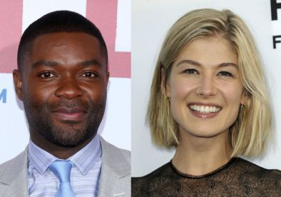 David Oyelowo and Rosamund Pike