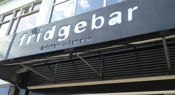 the fridge bar
