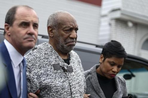 KENA BETANCUR/AFP/GETTY IMAGES Bill Cosby arrives in court to be arraigned in Elkins Park, Pa. on Wednesday.