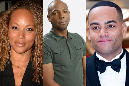 Angela Griffin, Don Gilet and Ben Bailey Smith