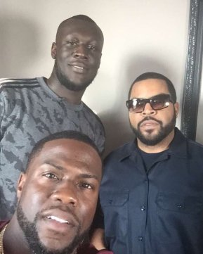 Stormzy, Ice Cube and Kevin Hart