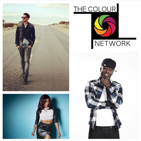 The Colour Network team: Sheridan D Myers, Annika and Kojo