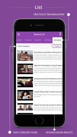 app 5-beanslist