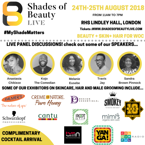 Shades of Beauty Live flyer 2