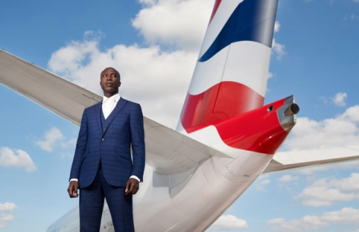 OZWALD BOATENG PHOTOGRAPHED BY NEALE HAYNES AT LONDON HEATHROW SEPT 2018